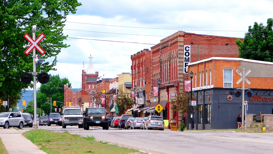 Downtown Stayner
