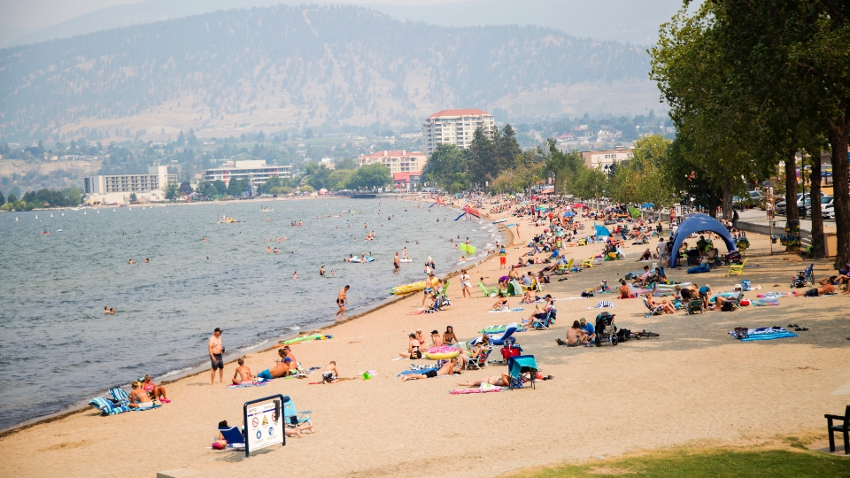 Beach in Penticton